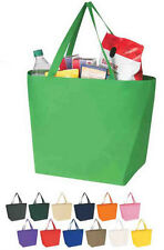250 NEW Reusable Shopping Tote Bags, Recyclable, Eco friendly  Just .85 cents pc
