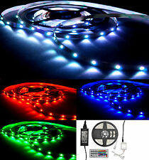 LED Strip 1m - 10m LED  Leiste Streifen Set RGB SMD5050 30 & 60 LEDs / Meter