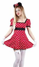 Miss mini mouse fancy dress costume dress outfit minnie's 8,10,12,14,16,18,20