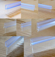 SHOWER SCREEN BATH DOOR SEAL For 7-8mm STRAIGHT or CURVED GLASS