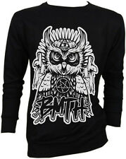 NWT Bring Me the Horizon BMTH Oliver Sykes OWL Retro VTG Sweater Jumper Crewneck