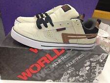World Industries Mens The Formula Shoe in Bone Diff size