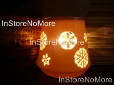 1 Scentsy FULL SIZE Warmer SNOW GLOW GLO Retire DISCONTINUED Winter Holiday Rare