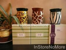 1 Scentsy FULL SIZE Warmer Retired SAFARI Collection UChoose Discontinued RARE