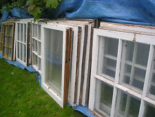 1 Antique Sash Window 2 Panes Old Farmhouse 1800 Unusual  Glass Shabby Choice
