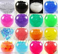 2 x10g PACKS WATER AQUA SOIL CRYSTAL BIO GEL BALL BEADS WEDDING VASE CENTREPIECE