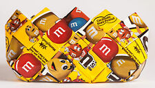 M&M Candy Wrapper, coin purse, clutch,upcycled, Eco,handmade,wrappers,gifts