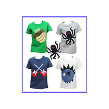 X Mini Boden Short Sleeved Big Applique T-shirt  choice designs, Age 3-10