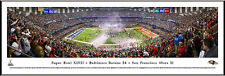 Baltimore Ravens Panoramic 2013 Super Bowl Champions Picture Photograph NEW