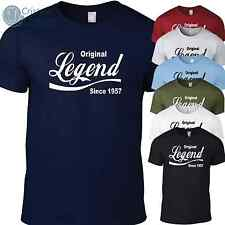 AN ORIGINAL LEGEND funny 60th Birthday Gift T-Shirt for men S-XXL