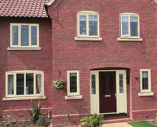 uPVC Windows - White, Grey, Cream, Black, Oak, Mahogany, Green, Rosewood