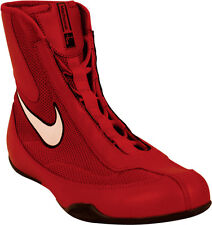 New! Nike Machomai Boxing Shoes / Boots In Mid Cut Black FREE DEL