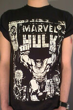 Hulk T Shirt Incredible 4XL Avengers Assemble gift Hero Comic Film Green Black