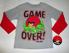 Angry Birds  Longsleeve Top Toddler Boys Size-3T NWT
