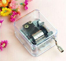 40 Different Songs For Clear Hand Crank Music Box ( You are my sunshine)