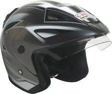 G-FORCE Racing Gear X9 Model Open Face Motorcycle DOT Rated Helmet with Graphics