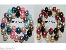 MIXED COLOURS Glass Pearl Beads size 4mm, 6mm, 8mm, 10mm, 12mm