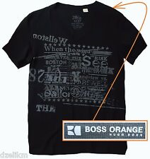 "NWT Boss Orange by Hugo Boss V-Neck ""WHEN THE WIND..."" Graphic T-shirt Tee"