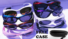 LADIES/WOMEN SUNGLASSES POLARIZED FIT OVER CRYSTAL 100% UV WEAR OVER RX PRESCRIP