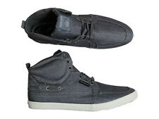 BRAND NEW MENS TWISTED FAITH P64 TONIC BLUE HI TOP TRAINERS BOOTS 6 -11 SIZES