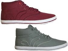 BRAND NEW MENS VOI JEANS FIERY MIRACLE HI TOP LACE UP STYLE FOOTWEAR - 2 COLOURS
