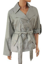 'Sara Kelly By Ellos' Ladies Roll Sleeve Mac / Trench Coat