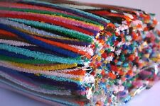 25 cotton Pipe Cleaner / Craft Stems (30cm length) - Choose from 14 colours