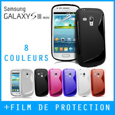 COQUE HOUSSE CASE GEL SILICONE S LINE SAMSUNG GALAXY S3 MINI i8190