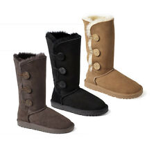 Ozwear UGG Premium 3 Button Long Boots