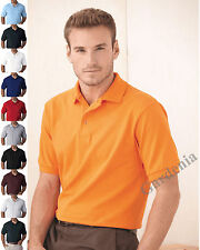 Hanes 055X  Adult Hanes ComfortSoft Cotton Pique Polo Sport Shirt S-6XL Golf