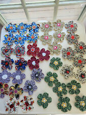 HUGE FLOWER SALE !!! Fabric Embellishment for Srapbook, Hair Accessories, Crafts
