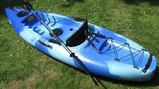 Sit on top Purity beginners entry level Kayak Hi Marine new BLUE&WHITE 2 Hatches
