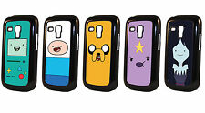 Adventure Time With Finn And Jake Character Samsung Galaxy S3 MINI Black Case