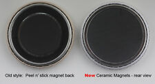 "1000 or 500 1-1/4"" Ceramic Magnet Button parts for 1.25"" Pin Maker,Badge Machine"
