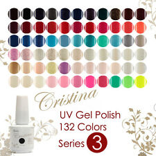 NEW 84 Colors 15ml Nail Polish Soak Off UV Gel Polish Long-lasting Cristina