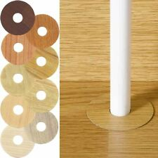 RADIATOR PIPE TO WOODEN STYLE FLOOR COVER SURROUND LAMINATE FLOORING CUT TO SIZE