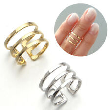 3Three Lines Top of Finger Over The Midi Tip Finger Above The Knuckle Open Ring