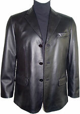 1021 All leather jackets blazer business Clothing tall and all size larger Long