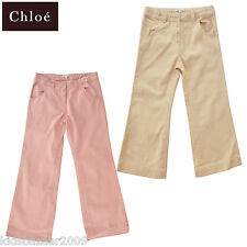 Chloe Girls Pink Straight Leg Pants BNWT RRP€100.8 Size 10-11 Last Chance~
