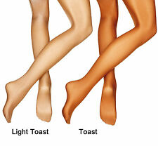 Toast Shimmer Tights Childrens Adults Shiny Shimmery Full Foot Dance Tights