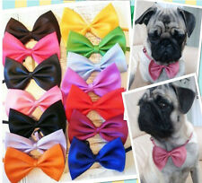 "(Pick 20 pcs) 11""-18"" Pet Dog Cat Puppy Pre-Tied Bow Tie Groomers Wholesale"