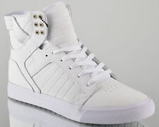 Supra Skytop mens lifestyle casual shoes NEW all white