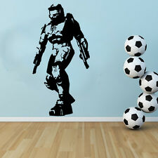 Halo - Master Cheif Free Squeegee! Wall Art Decal / Sticker / Transfer Gaming