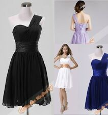 New Black Blue White Strapless Evening Prom Party Gowns Bridesmaids Dress 6-26