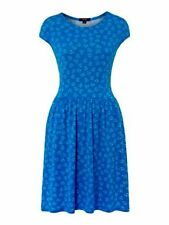 New Therapy Blue Rope Heart Print Convo Plus Size Skalter Dress Szs 8-18 RRP £35