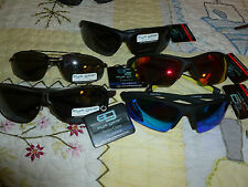 Foster Grant Eye Gear Sunglasses 1/2 Rim & Wire Wrap Frame 100 % UAV UVB