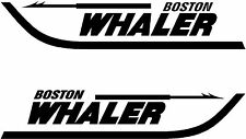 Set of 2 Boston Whaler Boat Decals-3 Sizes Available