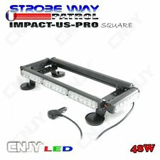 FEUX A ECLAT GYROPHARE DE TOIT LED SWP US RAMPE ROTATIF SAFETY CAR FLASH CAMION