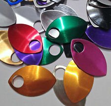25 -SMALL Anodized Aluminum Scales CHOOSE YOUR COLOR chainmail chain maille mail