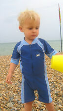 UV50+ Sunblocker Wetsuit-Like Baby and Toddler Boy Swimsuits (54% of RRP)